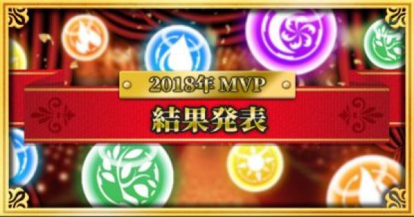 2018年度みんなで決めるMVPまとめ!【結果発表】
