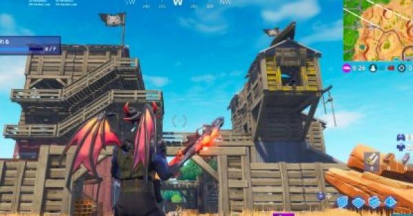 【フォートナイト】「全ての海賊拠点を訪れる」シーズン8チャレンジ攻略【FORTNITE】