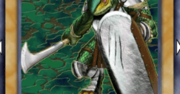 【遊戯王デュエルリンクス】リザード兵の評価と入手方法