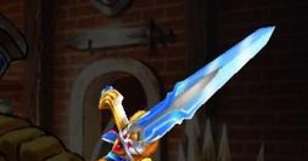 【白猫】湖の剣<結氷>の評価/ディーネモチーフ武器