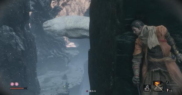 【SEKIRO】橋下の谷〜大手門の出丸の攻略チャート 葦名城 城下【隻狼】