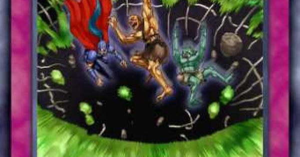 【遊戯王デュエルリンクス】大落とし穴の評価と入手方法