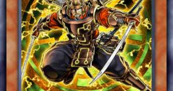 【遊戯王デュエルリンクス】真六武衆カゲキの評価と入手方法