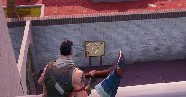 【フォートナイト】「パラダイスパームズにある宝の地図の標識」ウィーク8攻略【FORTNITE】
