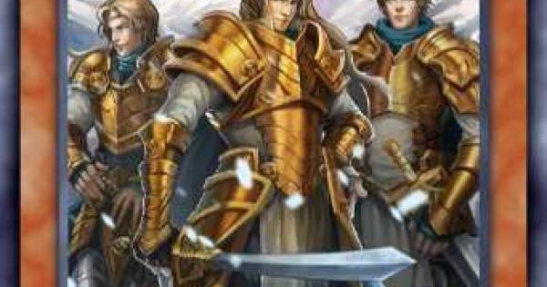 【遊戯王デュエルリンクス】聖騎士の三兄弟の評価と入手方法