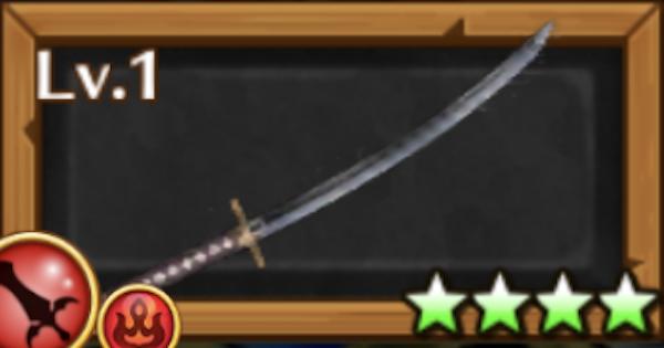 【白猫】土方モチーフ/隊士の刀の評価