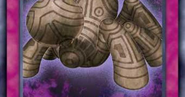 【遊戯王デュエルリンクス】苦紋様の土像の評価と入手方法