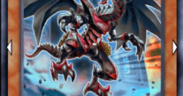 【遊戯王デュエルリンクス】真紅眼の遡刻竜の評価と入手方法