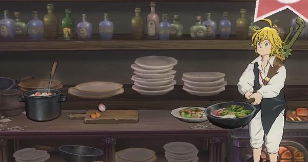【グラクロ】料理の解説とおすすめ登録レシピ【七つの大罪】