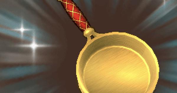 【ファンタジーライフオンライン】ゴールドフライパンのレシピ情報【FLO】