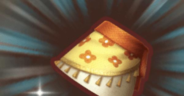 【ファンタジーライフオンライン】花がらミニスカートのレシピ情報【FLO】
