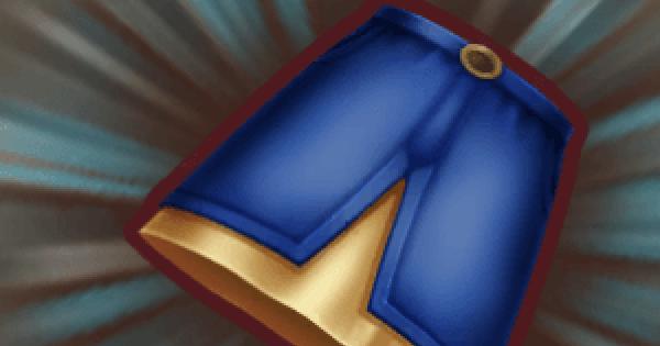 【ファンタジーライフオンライン】デニムロングスカートのレシピ情報【FLO】