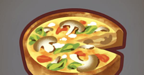 【ファンタジーライフオンライン】きのこキッシュのレシピ情報【FLO】