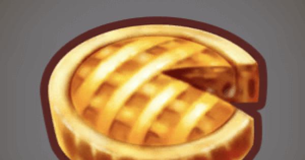 【ファンタジーライフオンライン】アップルパイのレシピ情報【FLO】