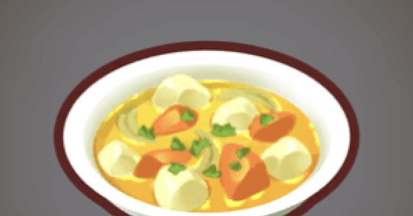 【ファンタジーライフオンライン】野菜のシチューのレシピ情報【FLO】