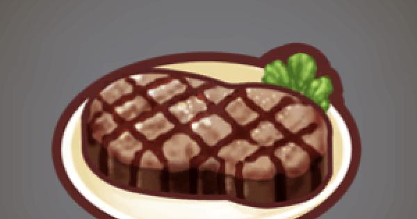 【ファンタジーライフオンライン】ステーキのレシピ情報【FLO】