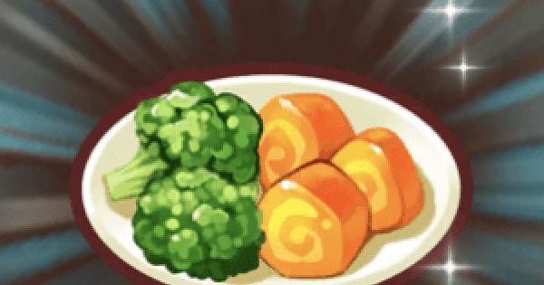 【ファンタジーライフオンライン】王室の温野菜のレシピ情報【FLO】