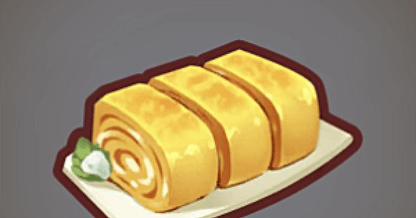 【ファンタジーライフオンライン】たまご焼きのレシピ情報【FLO】