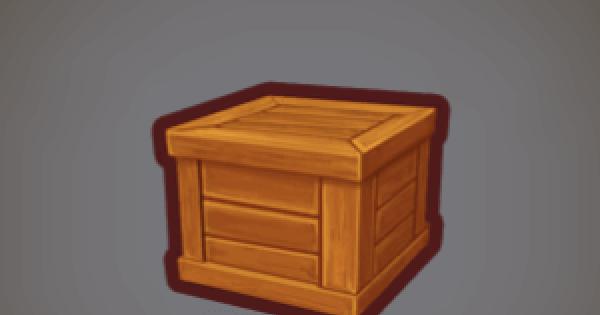 【ファンタジーライフオンライン】木箱のレシピ情報【FLO】
