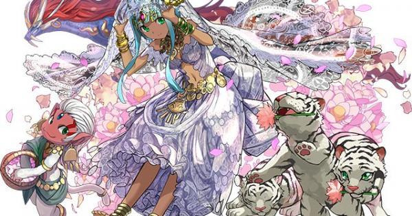【パズドラ】花嫁パールヴァティーの評価!おすすめの超覚醒と潜在覚醒