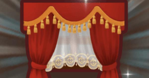 【ファンタジーライフオンライン】ロイヤルなカーテンのレシピ情報【FLO】