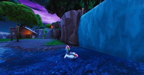【フォートナイト】「泳げる場所でユニコーンの浮き輪を探す」14日間の夏攻略【FORTNITE】