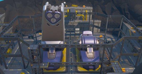 【フォートナイト】火山に巨大ロボット出現!?現在絶賛建造中!【FORTNITE】