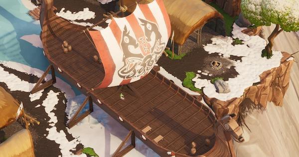 【フォートナイト】海賊船かヴァイキングの船から木材を100集める【FORTNITE】