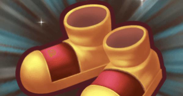 【ファンタジーライフオンライン】ゴールドブーツの入手方法と強化素材【FLO】