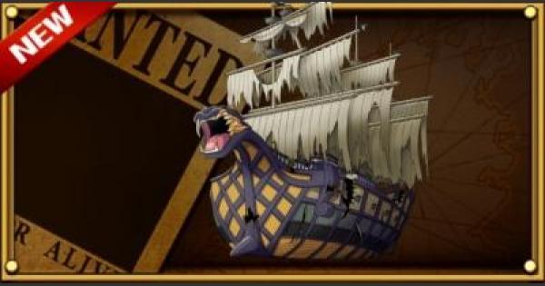 【トレクル】【船】クリークの「ドレッドノート・サーベル号」【ワンピース トレジャークルーズ】