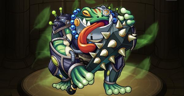 【モンスト】カエル怪人フロッギー(進化)の評価と使い道(神化素材)