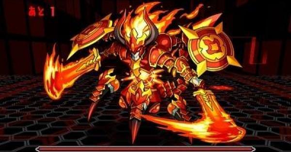 【パズドラ】火と光の機甲龍(超地獄級)ノーコン攻略とスキル上げ