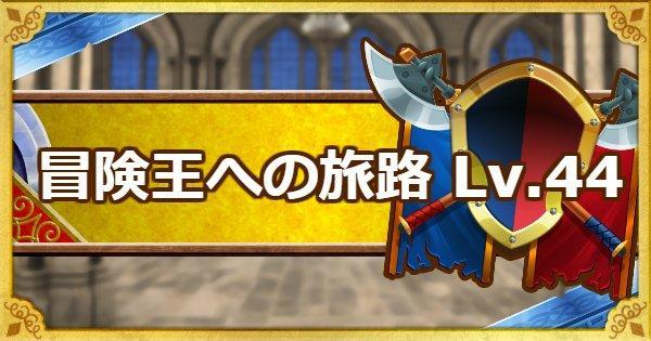 【DQMSL】「冒険王への旅路レベル44」リオー・アーロの攻略法!