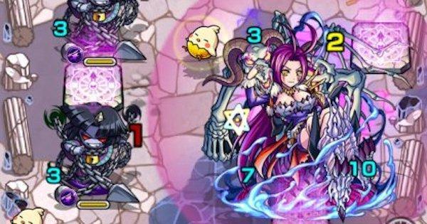 【モンスト】キュベレー【究極+EX】攻略の適正キャラランキング