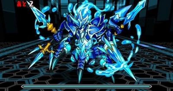 【パズドラ】水と闇の機甲龍(超地獄級)ノーコン攻略とスキル上げ