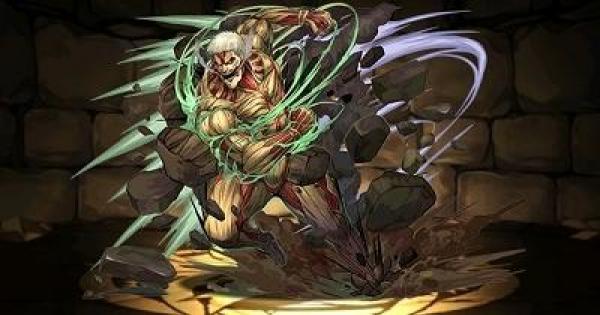 【パズドラ】鎧の巨人の評価と使い道|進撃の巨人コラボ