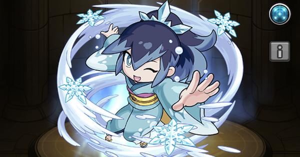 【モンスト】ふぶき姫の最新評価と適正クエスト 妖怪ウォッチコラボ