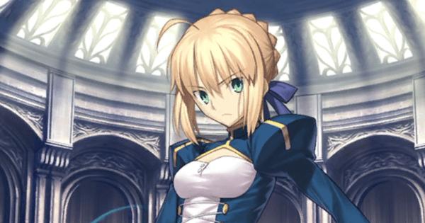 【FGO】アルトリア(青セイバー)の評価と再臨素材