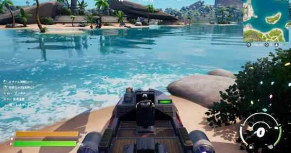 【フォートナイト】モーターボートの場所まとめ【FORTNITE】
