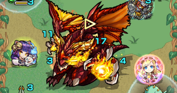 【モンスト】ファイアードラゴン【究極】攻略と適正キャラランキング