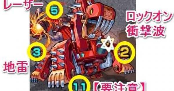 【モンスト】ショベルザウルス【極】攻略の適正キャラとおすすめパーティ