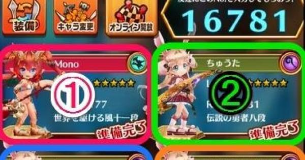 【白猫】茶熊TA(ソウマチャレンジ)星11のSS攻略