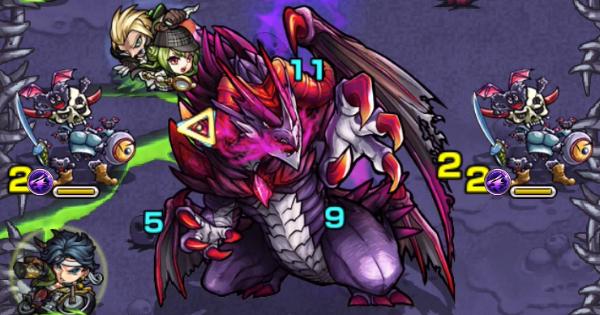 【モンスト】ダークドラゴン【究極】攻略と適正キャラランキング