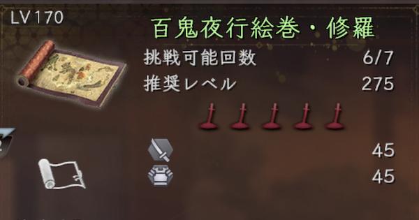 百鬼夜行絵巻