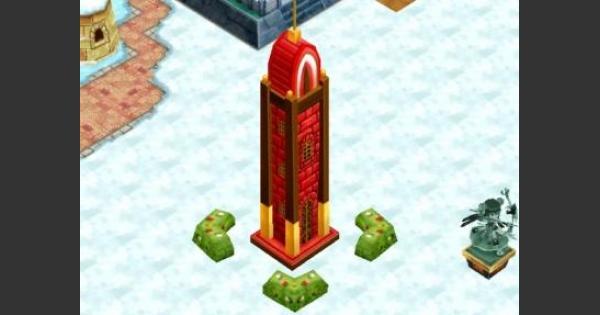 【白猫】ポッキーの塔の必要ルーン数と早見表