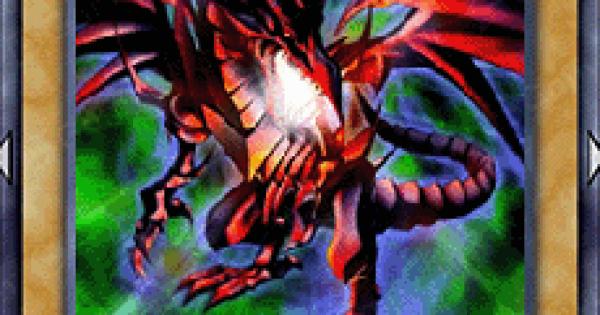 【遊戯王デュエルリンクス】真紅眼の黒竜(レッドアイズ)の評価と入手方法