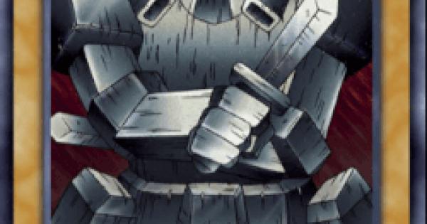 【遊戯王デュエルリンクス】岩石の巨兵の評価と入手方法