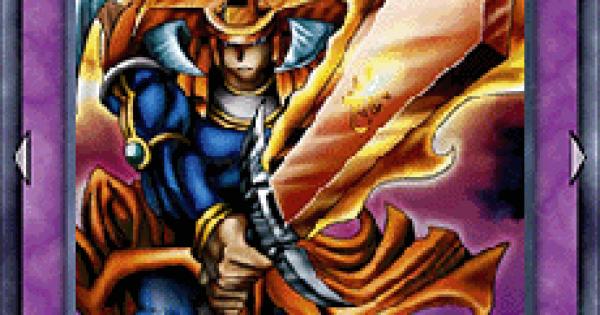 【遊戯王デュエルリンクス】炎の剣士の評価と入手方法