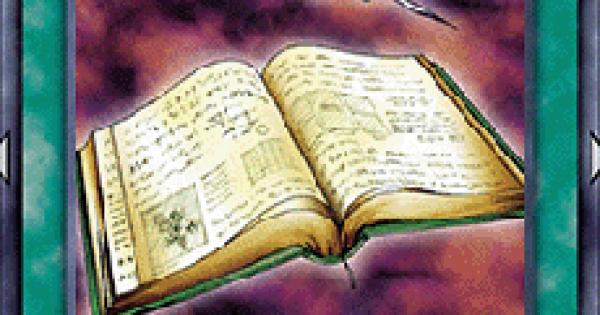 【遊戯王デュエルリンクス】秘術の書の評価と入手方法