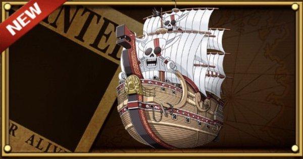 【トレクル】【船】シャンクスの「レッド・フォース号」【ワンピース トレジャークルーズ】